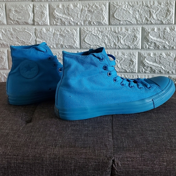 Converse Other - Chuck Taylor Blue Monochrome high tops